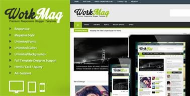 Workmag Responsive Multipurpose Blogger-bwtemplate