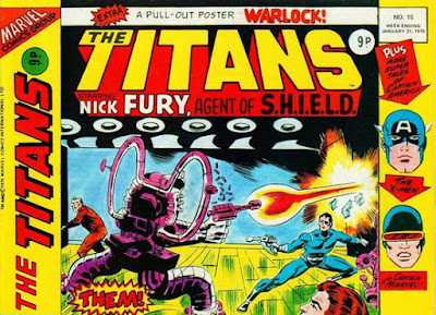 Marvel UK, Titans #15, Nick Fury