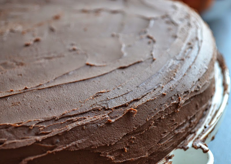 Nuss-Nutella-Kuchen mit Schokoladencreme