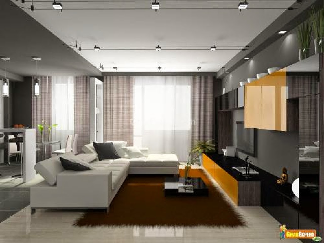 White Done Right Living Room