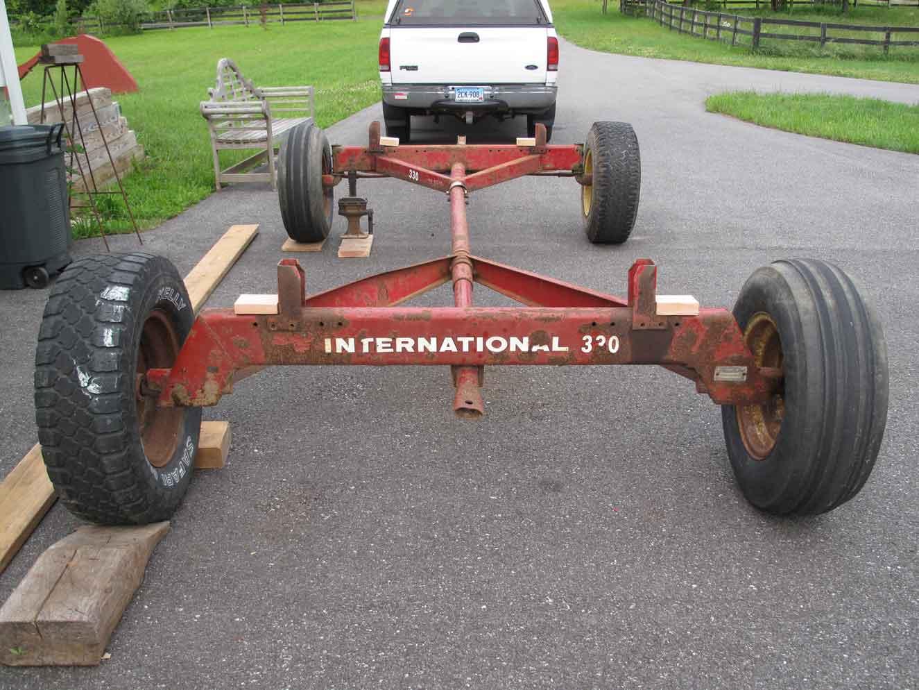 Antique International Harvester Wagon : John everett scofield chicken wagon chic poor henry