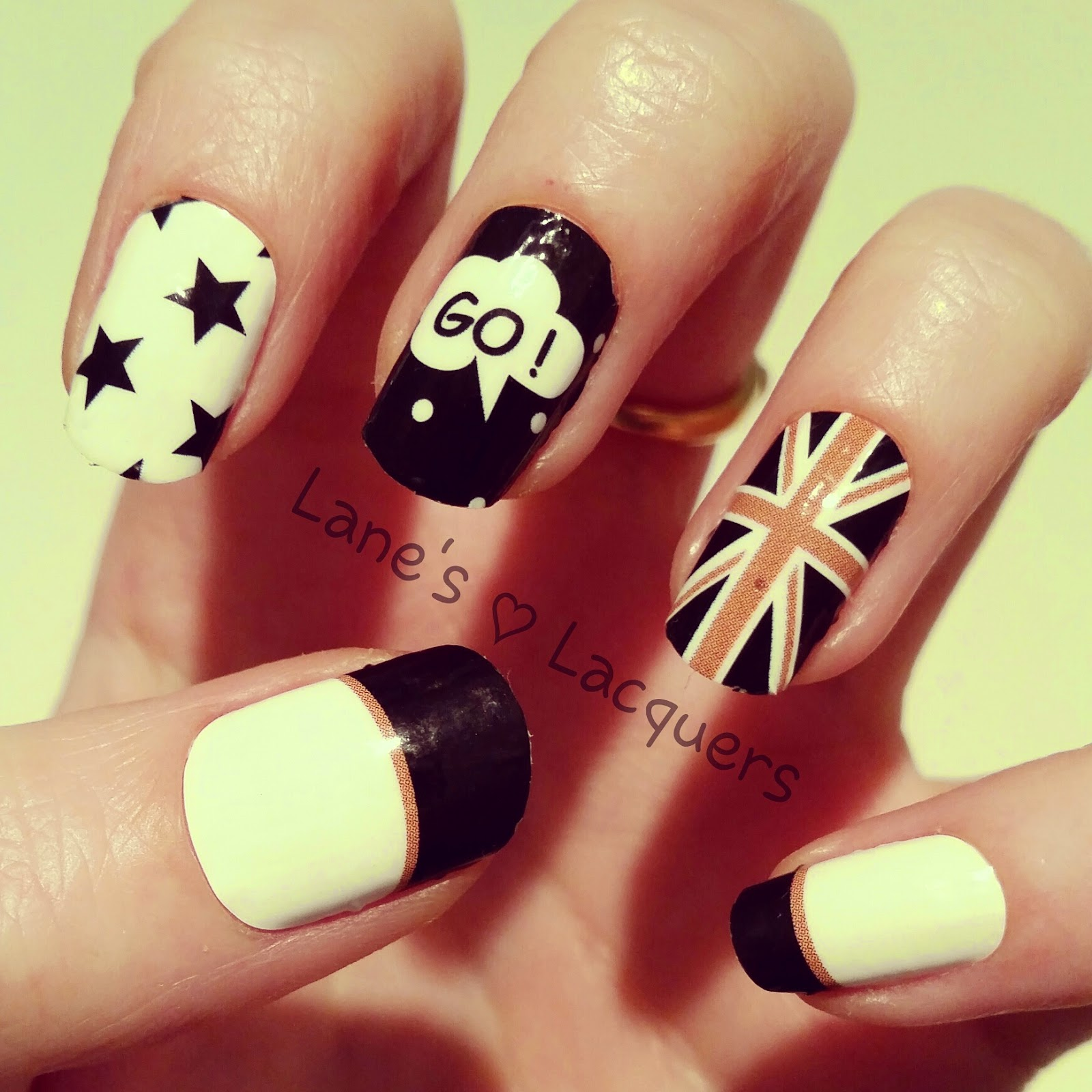 omg-nail-strips-monochrome-british-nail-art