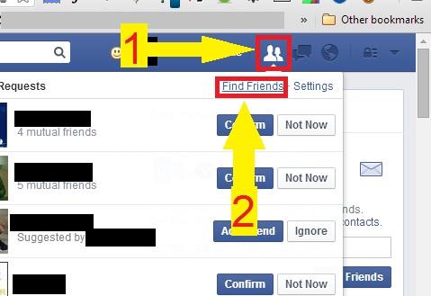معرفة طلبات الصداقة التي قمت بإرسالها بدون برامج أو تطبيقات | View Sent Requests