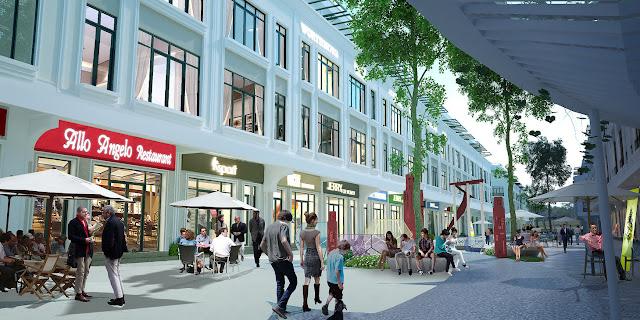 Nhà phố thương mại - Shophouse