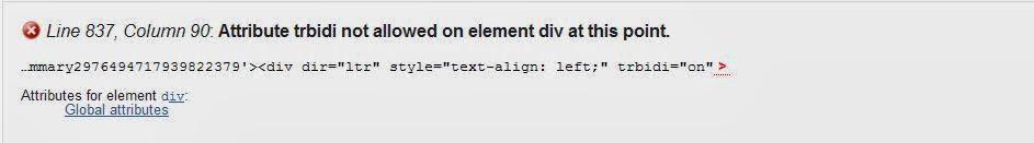 Cek Validasi HTML