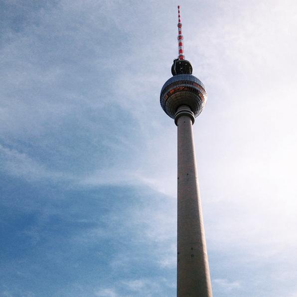 Berlin Fernsehturm Tour télévision