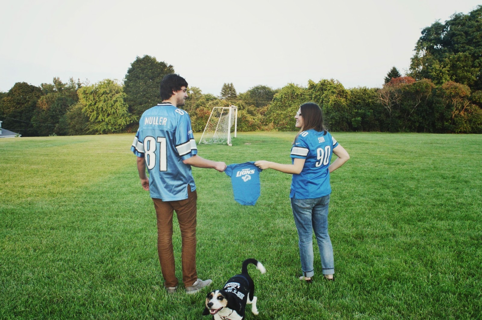 football pregnancy announcement, nfl pregnancy