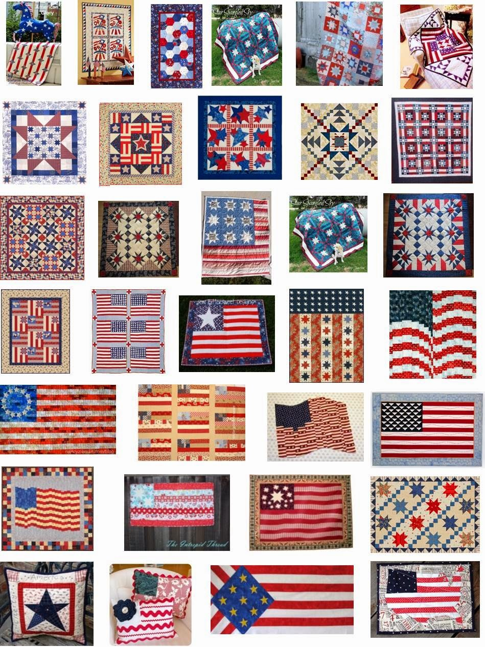 Free Pattern Day Patriotic And Flag Quilts Quilt