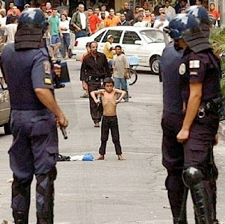 funny picture: child and police