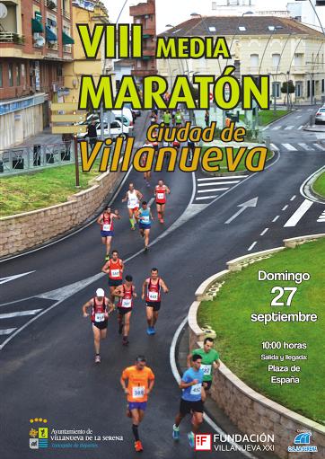 VIII Media Maratón Ciudad de Villanueva