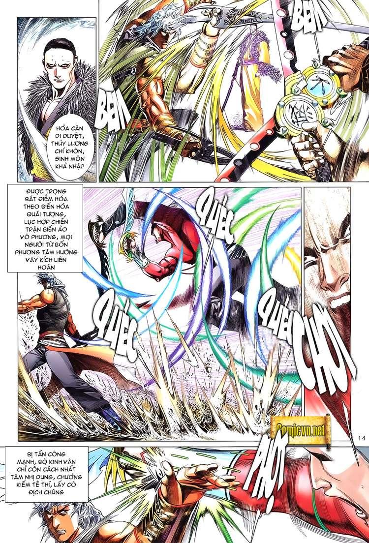Phong Vân chap 621 Trang 14 - Mangak.info