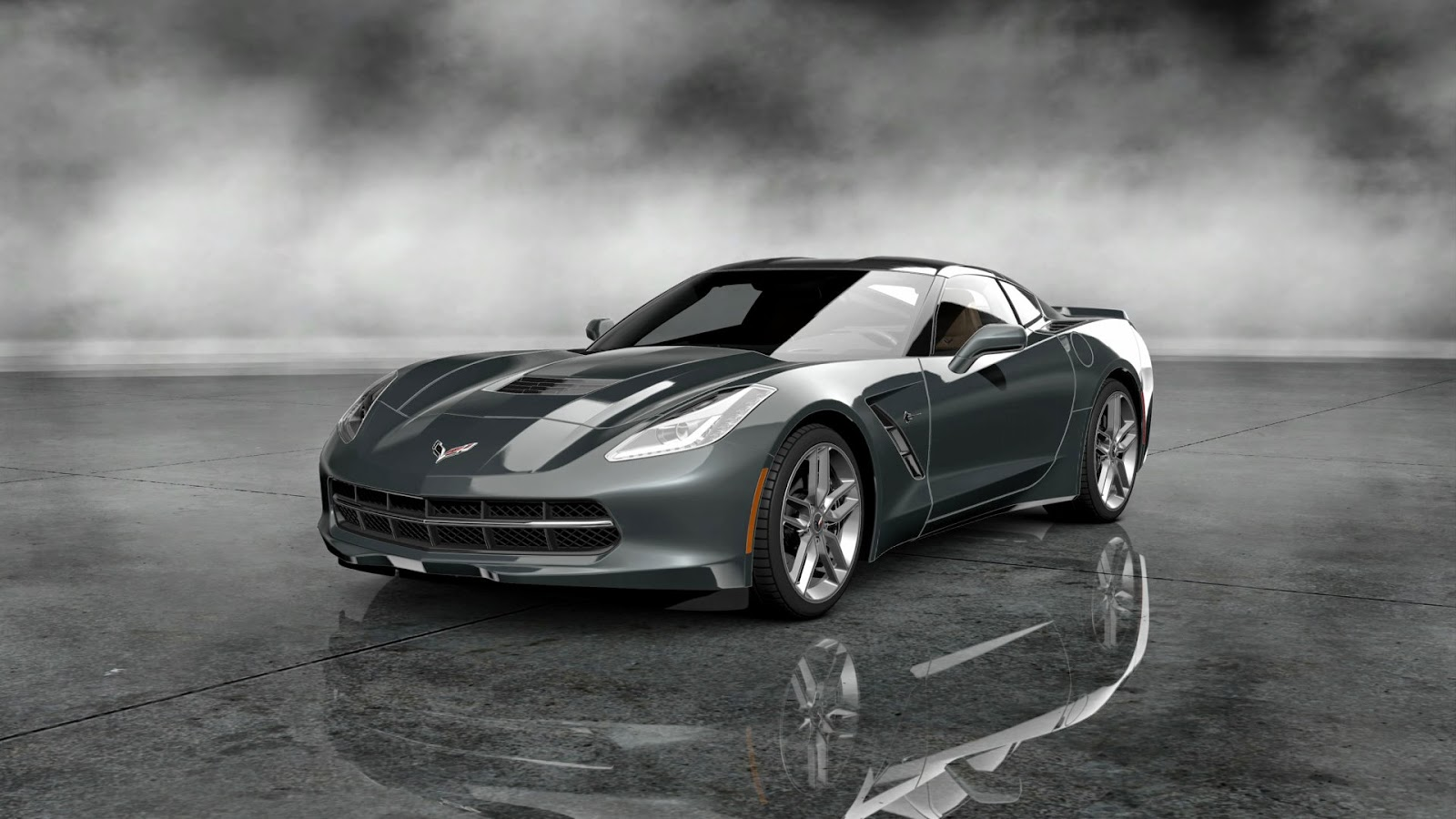 sport car corvette stingray wallpapers