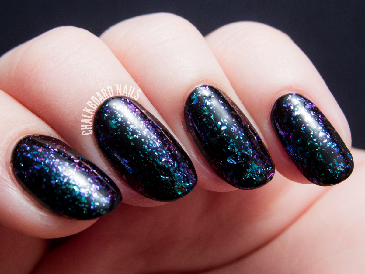 I Love Nail Polish - Supernova via @chalkboardnails