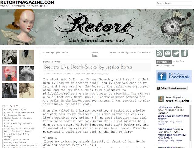 short story jessica bates retort