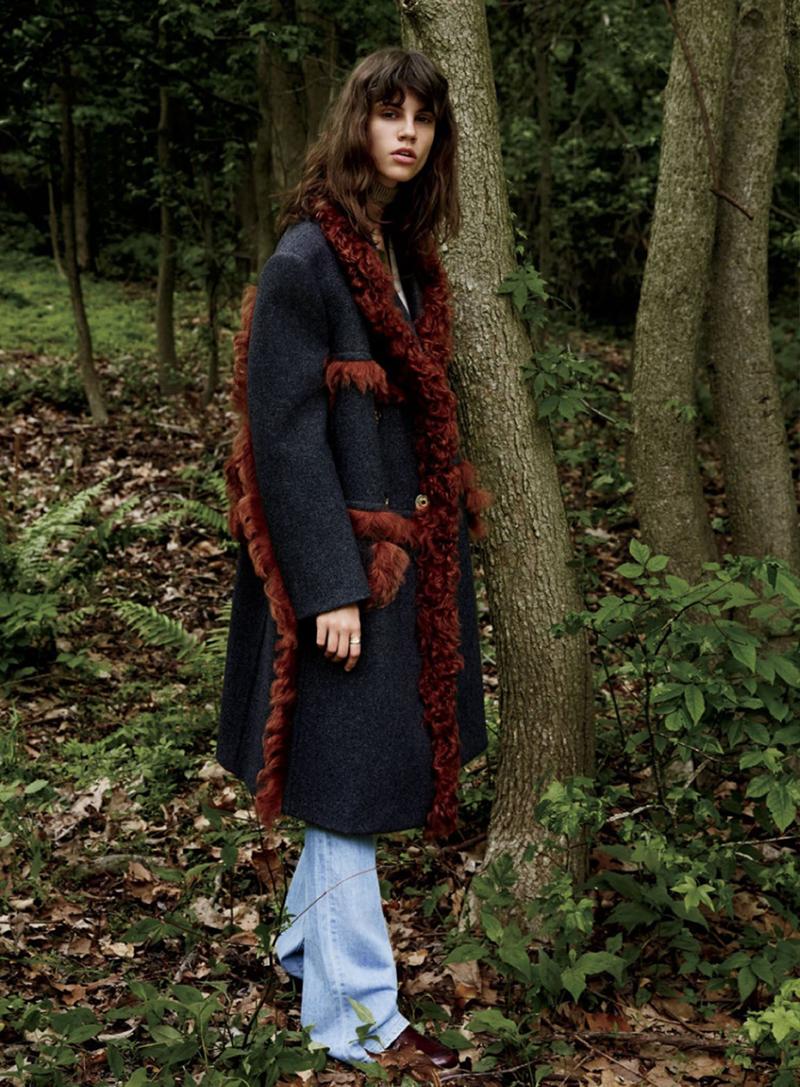 Antonina Petkovic by Yelena Yemchuk for Elle US September 2014