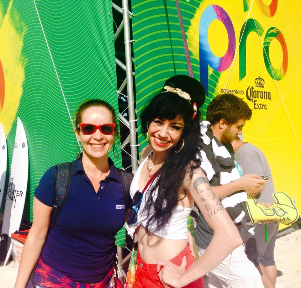 ESPN Brasil - Sósia Amy no Campeonato Mundial de Surf