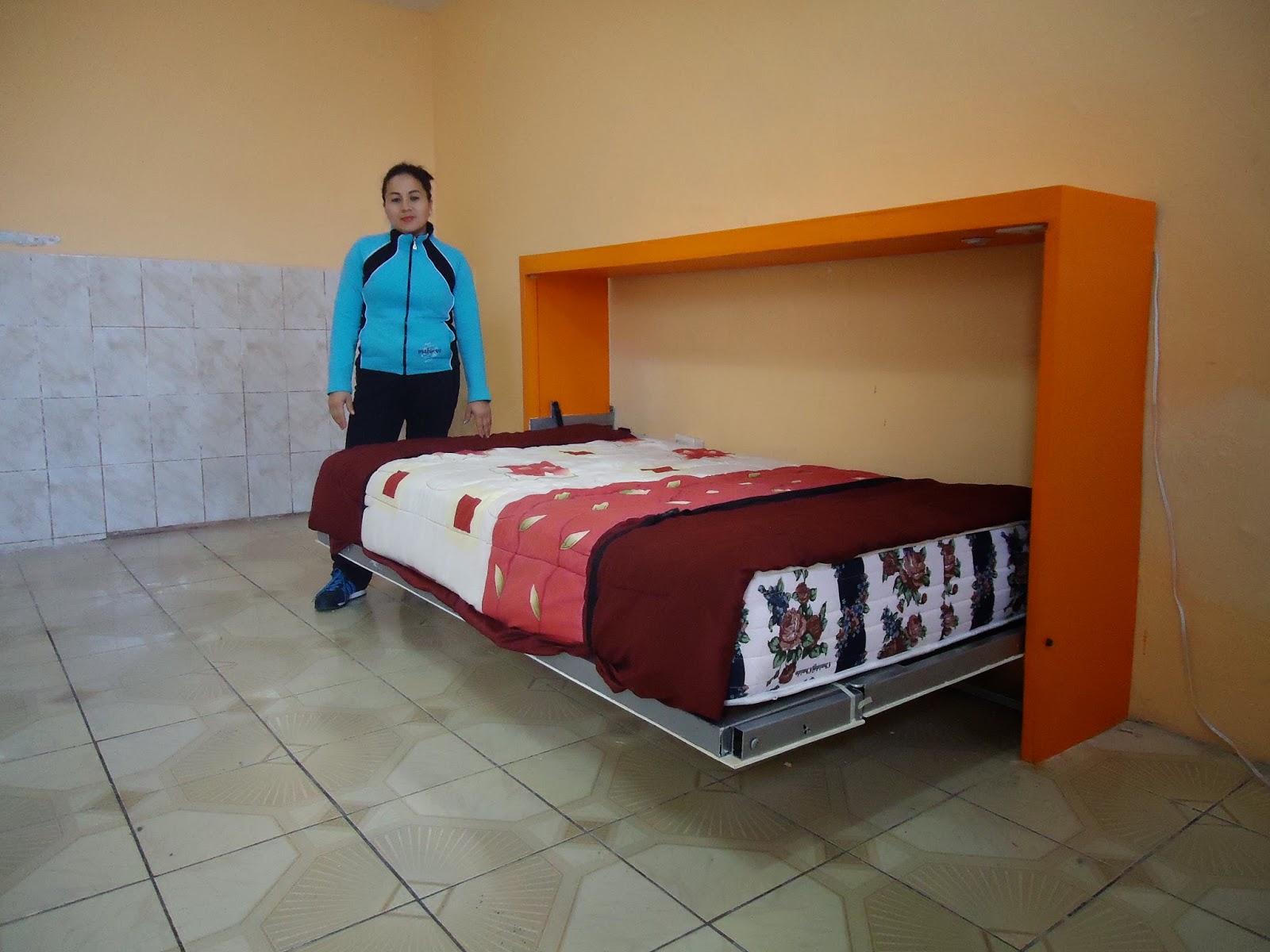 Wall beds ecuador muebles multifuncionales para espacios - Camas dobles infantiles para espacios reducidos ...