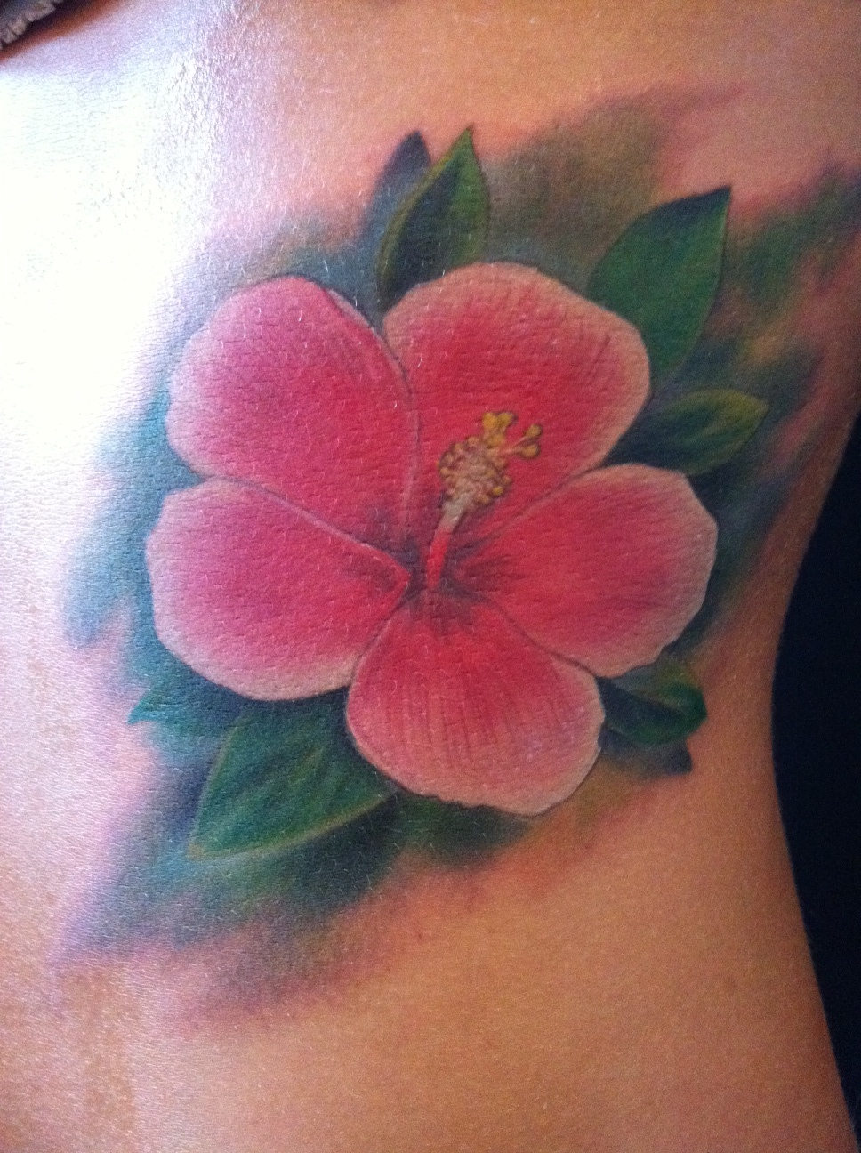 Tattooworld hr sweden realistic hibiscus flower tattoo by alex realistic hibiscus flower tattoo by alex izmirmasajfo