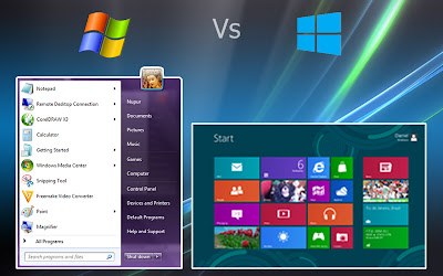 windows 7 v/s windows 8