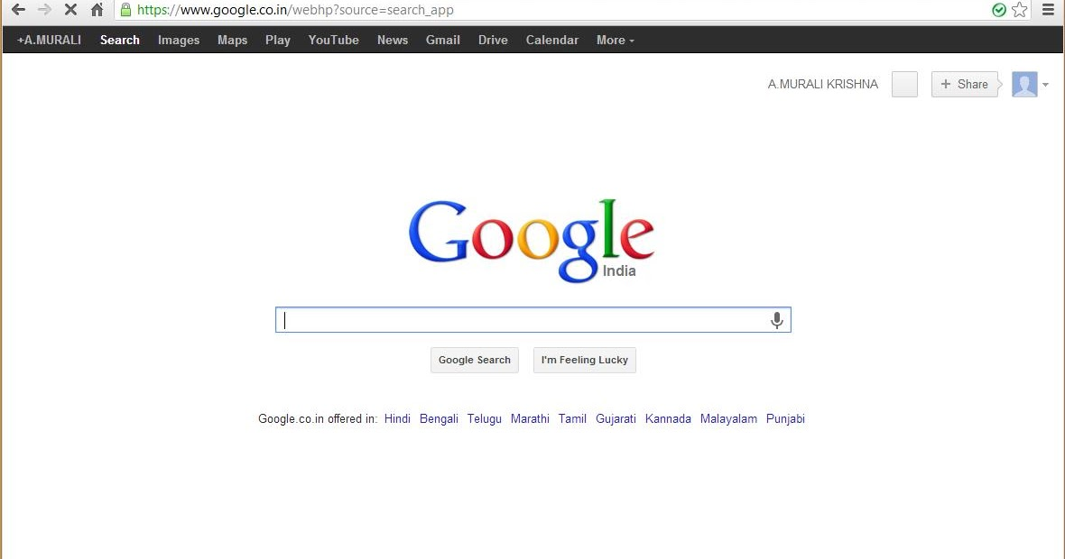 how to change name on google
