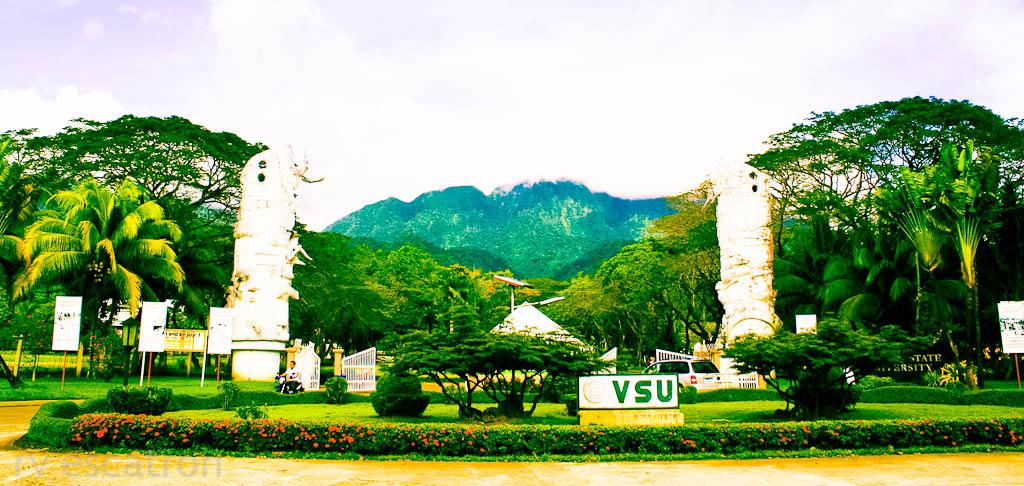 College University: Visayas State University College Of ... University Of Mindanao Logo