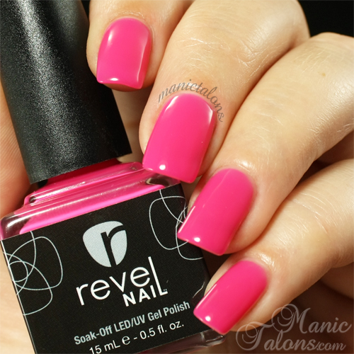 Revel Nail Gel Polish Gala Swatch