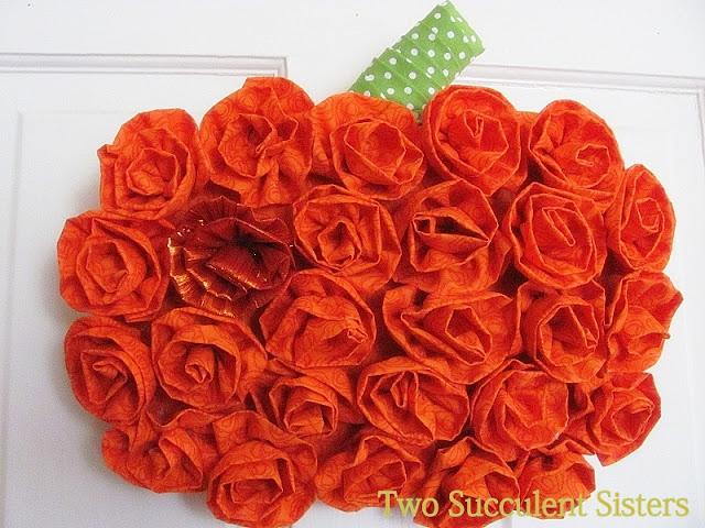 rosette pumpkin
