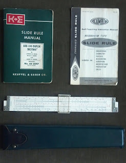 slide rule and manual
