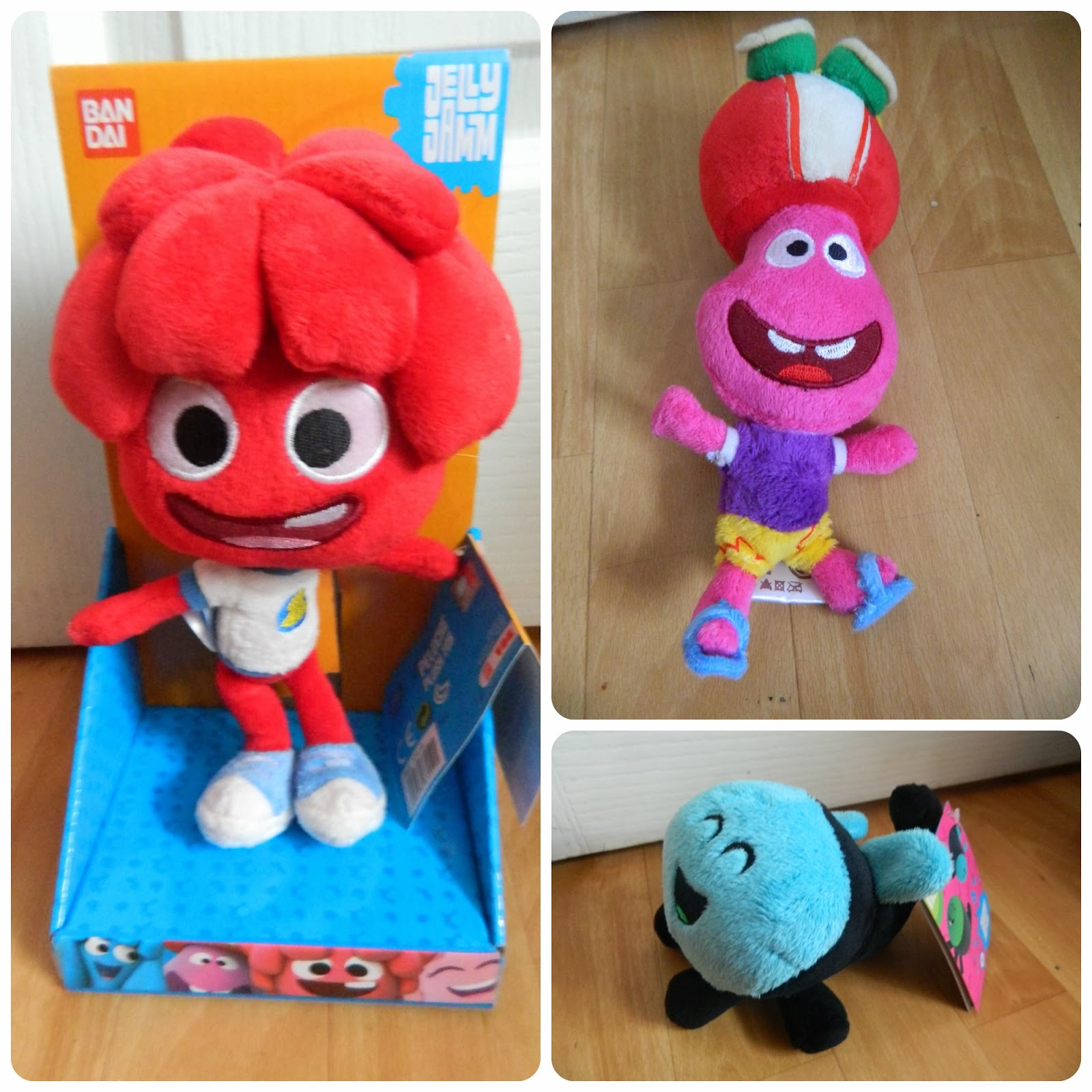 Jelly Jamm Plush toys range Bello Dodo Goomo