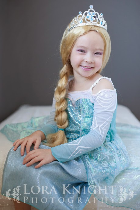 I still think she looked adorable and know that she LOVED looking like Elsa!  sc 1 st  Lora Knight & Lora Knight Photography Blog - Contemporary Glamour: Frozen Elsa ...