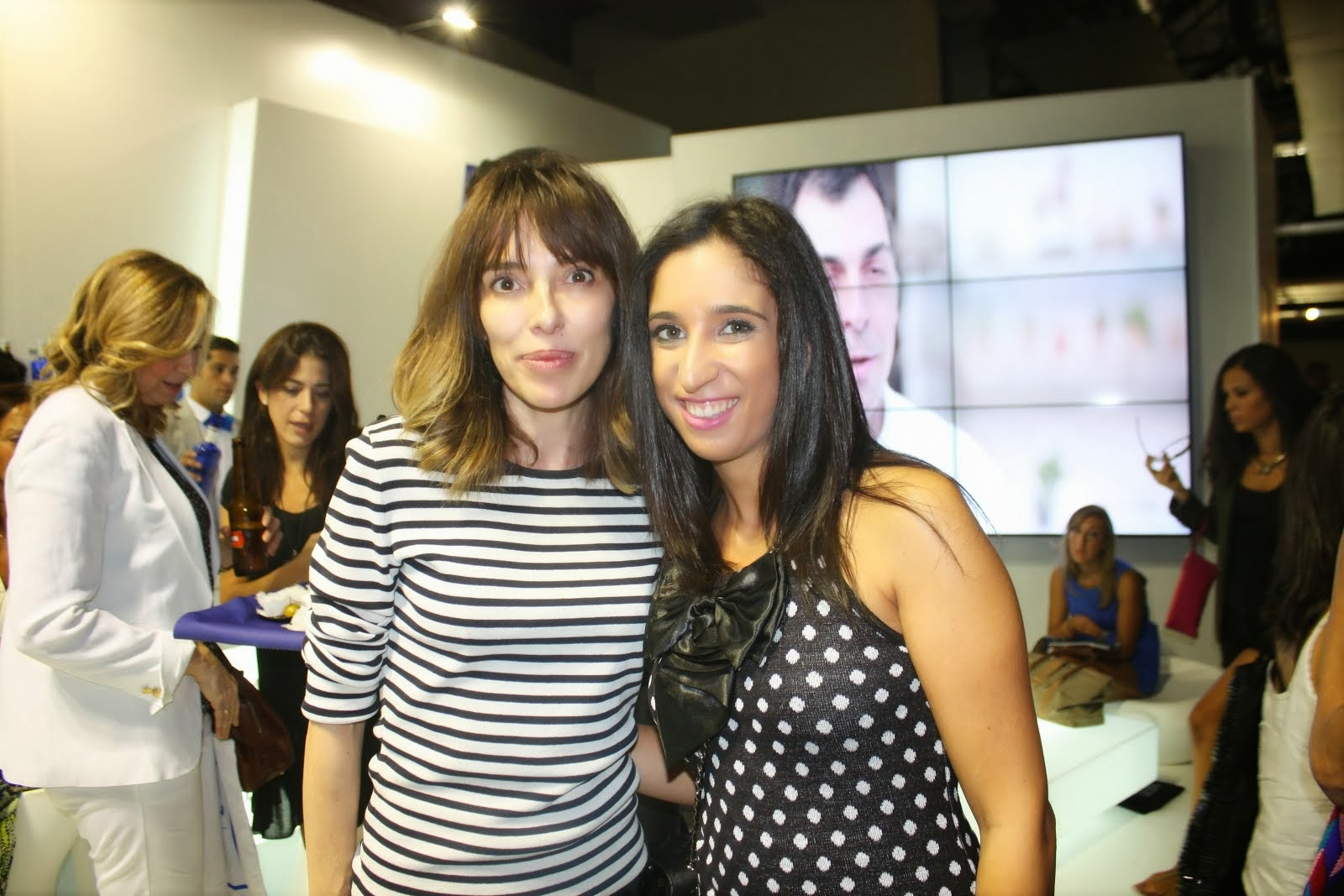 With Teresa Helbig Fashion Designer
