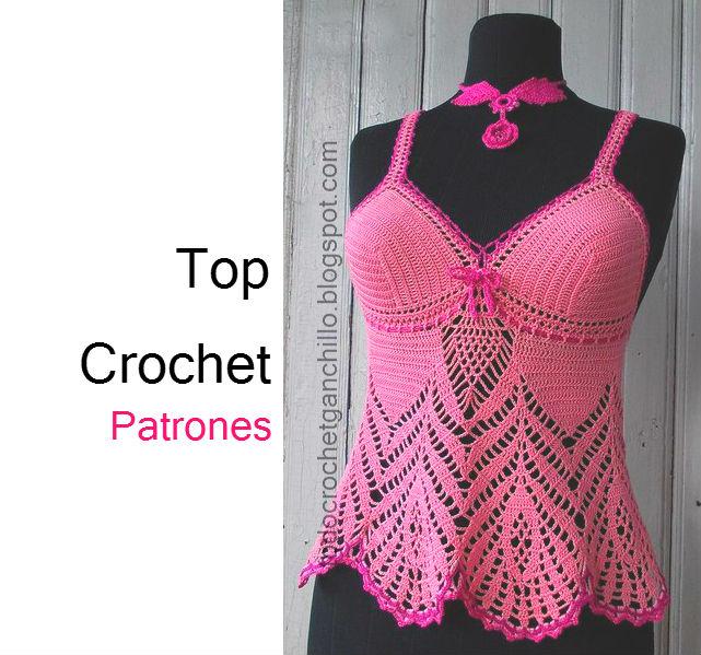 Solero Top Crochet / Patrones y paso a paso | Todo crochet