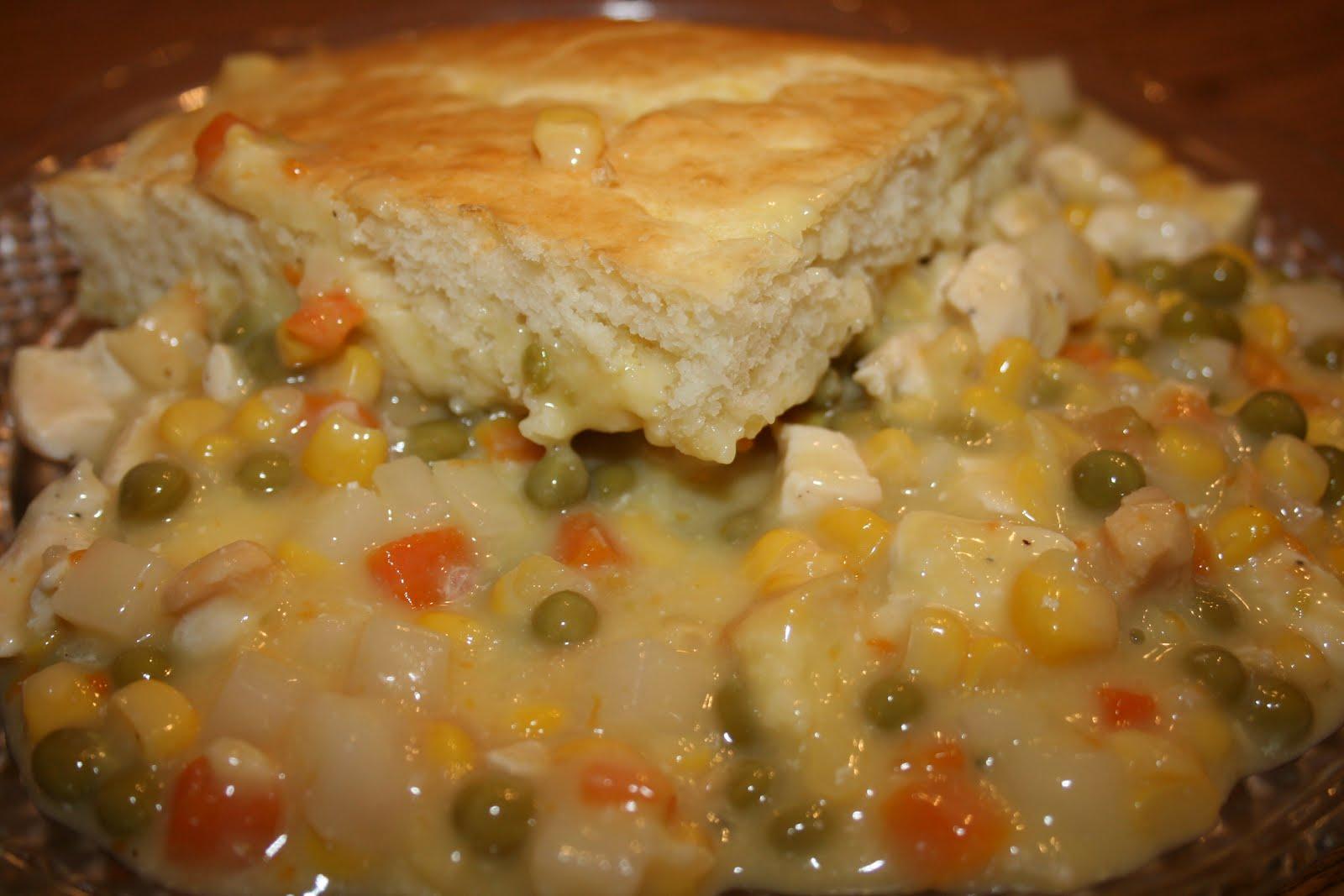 Cooking Mommy: Chicken Pot Pie