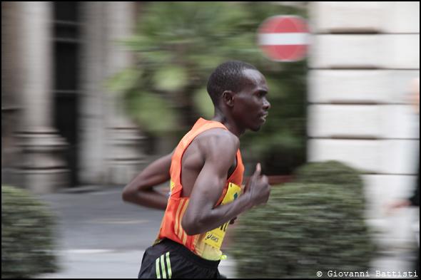 Fotografia di Korir Patrick Kiptanui alla Maratona di Roma 2013