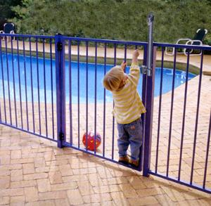To keep your children safe around water, start outside the pool!!!