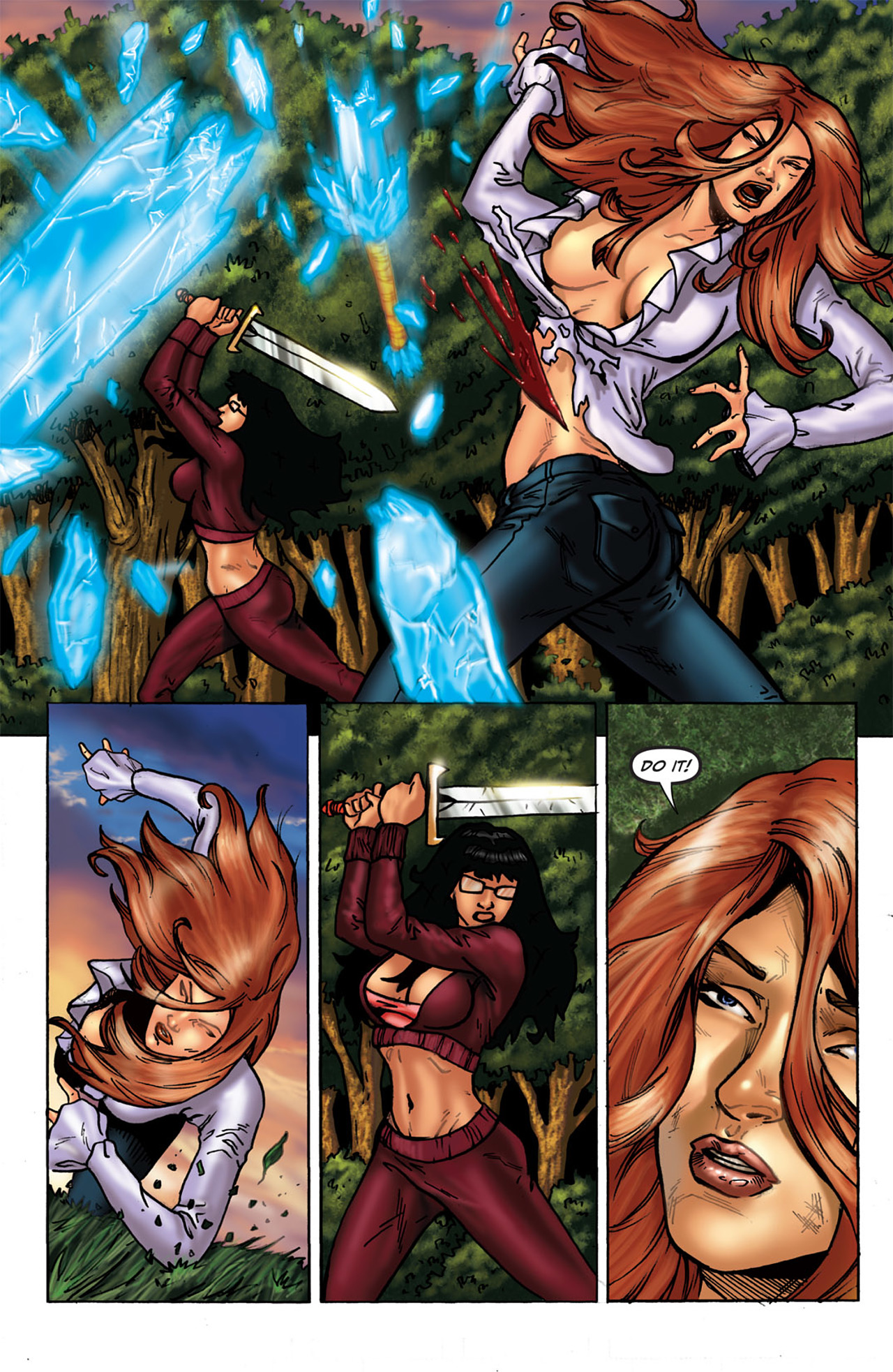 Grimm Fairy Tales (2005) Issue #43 #46 - English 19