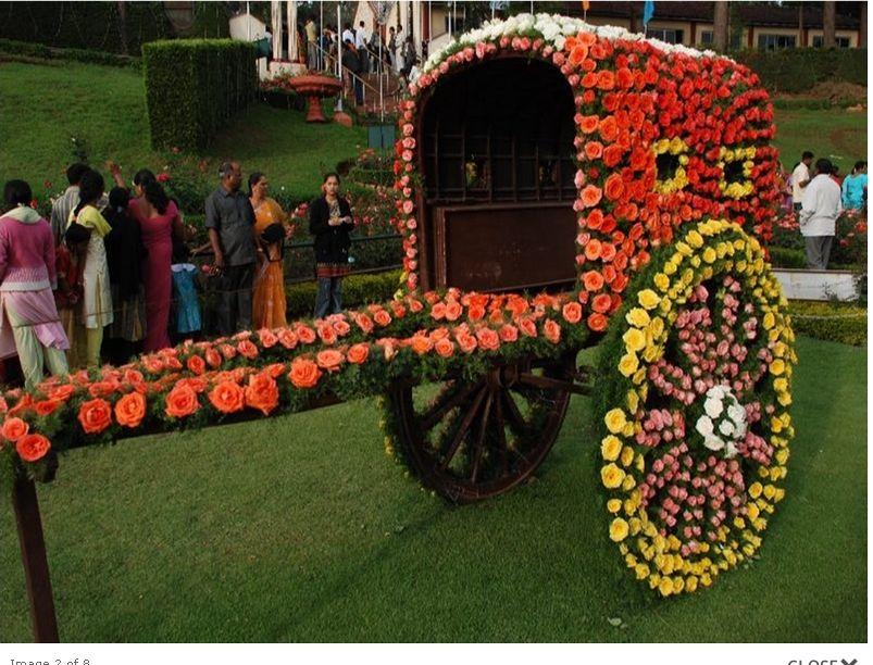 Ooty 2012 Rose Show Stills