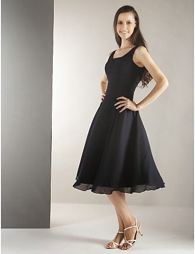 Model foto gaun pesta simpel selutut terbaru 2015 anggun masa kini