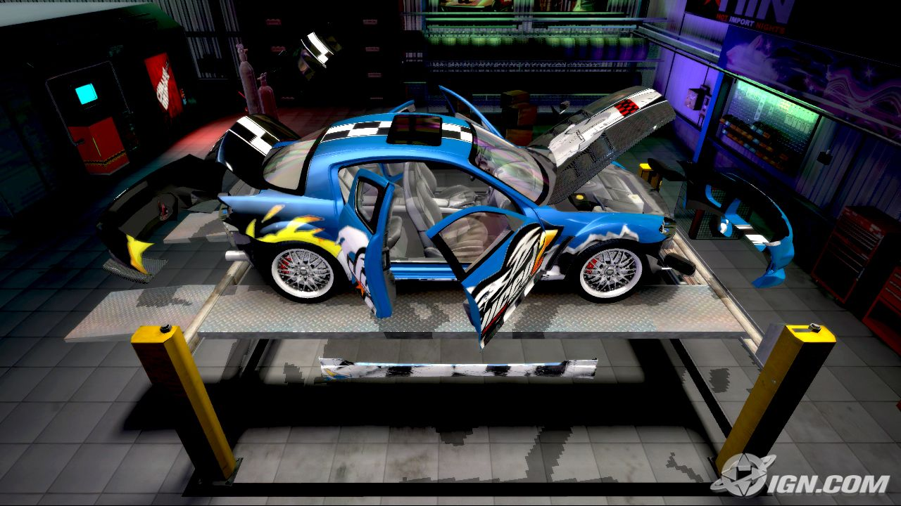 Juiced Hot Import Nights Oopz Games