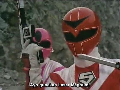 Hikari Sentai Maskman Ep 1 Subtitle Indonesia