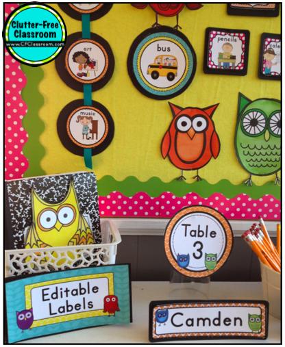 Classroom Ideas With Owls ~ Owls themed classroom ideas photos tips