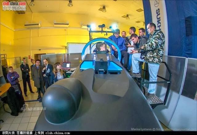 simulator jet tempur sukhoi