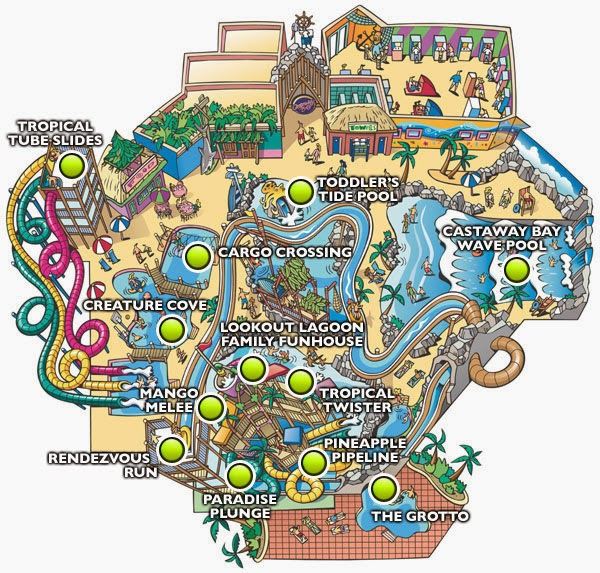 Map of Castaway Bay