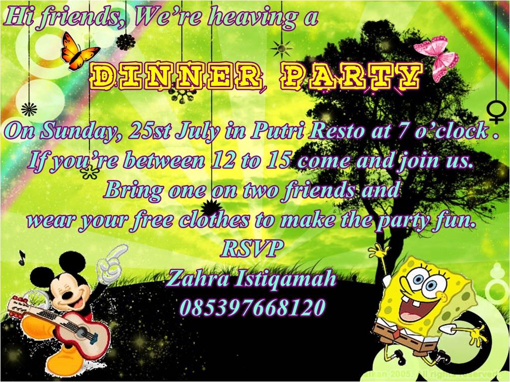 Contoh Invitation
