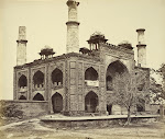 Gateway-of-Akbar's-Tomb---c1860's-b