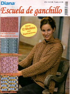 REVISTA DE CROCHET DIANA ESCUELA DE GANCHILLO №2 2016 PARA DESCARGAR