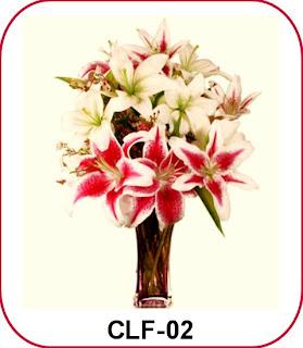 rangkaian bunga mewah