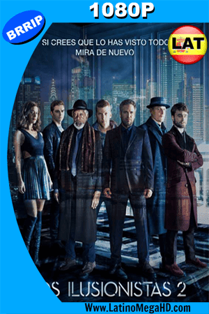 Los Ilusionistas 2 (2016) Latino HD 1080P ()