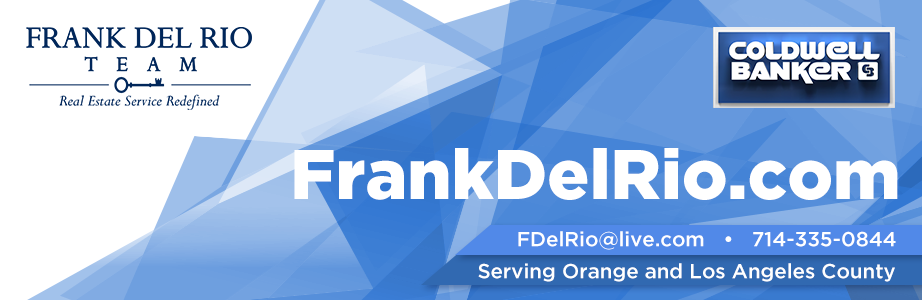 Orange County, CA  Real Estate Video Blog with Frank Del Rio