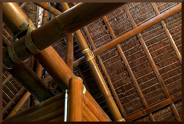 Buglas Bamboo, Philippines, beauty,house,interior roof